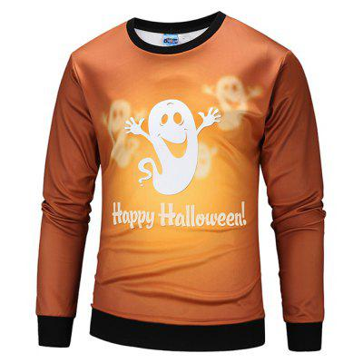 Mr Bao Long Miss Go Casual Cute Printing Hoodies Halloween Sweatshirt