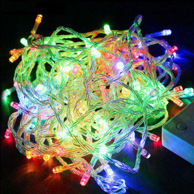 DengZhan AC 220V 20M LED Waterproof String Light with 8 Flashing Modes for Christmas Holiday Wedding Party Indoor Outdoo
