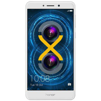 Gearbest Huawei Honor 6X 4G Phablet Global Version  -  SILVER