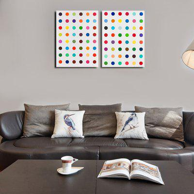 Qiaojiahuayuan Abstract Circle Wall Decor PrintPrints<br>Qiaojiahuayuan Abstract Circle Wall Decor Print<br><br>Brand: Qiaojiahuayuan<br>Craft: Print<br>Form: Two Panels<br>Material: Canvas<br>Package Contents: 2 x Print<br>Package size (L x W x H): 62.00 x 5.00 x 5.00 cm / 24.41 x 1.97 x 1.97 inches<br>Package weight: 0.4200 kg<br>Painting: Without Inner Frame<br>Product weight: 0.3000 kg<br>Shape: Horizontal Panoramic<br>Style: Modern / Contemporary<br>Subjects: Abstract<br>Suitable Space: Bedroom,Dining Room,Hotel,Indoor,Living Room,Office,Outdoor