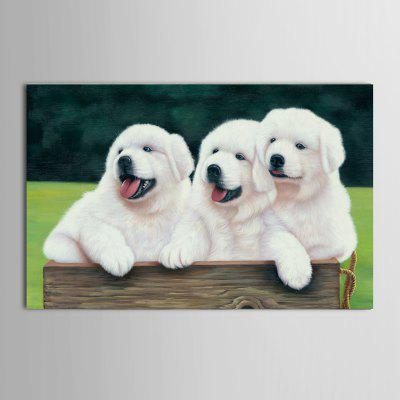 Buy Mintura Unframed Prints Modern Canvas Dogs Wall Art 1PC, COLORMIX, Home & Garden, Home Decors, Wall Art, Prints for $22.38 in GearBest store