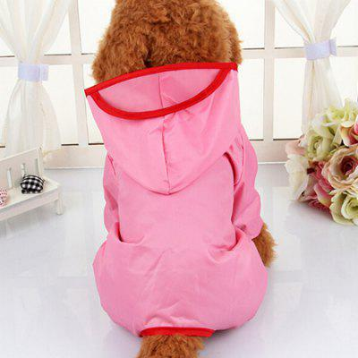 Waterproof Hooded Dog Raincoat for Pets