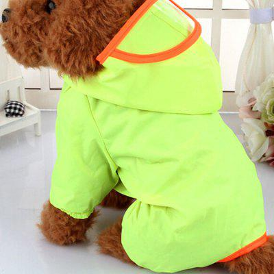 Waterproof Hooded Dog Raincoat for PetsDog Clothing &amp; Shoes<br>Waterproof Hooded Dog Raincoat for Pets<br><br>For: Dogs<br>Package Contents: 1 x Pet Raincoat<br>Package size (L x W x H): 15.00 x 10.00 x 2.00 cm / 5.91 x 3.94 x 0.79 inches<br>Package weight: 0.1130 kg<br>Product size (L x W x H): 25.00 x 20.00 x 1.50 cm / 9.84 x 7.87 x 0.59 inches<br>Product weight: 0.1100 kg<br>Type: Cloth