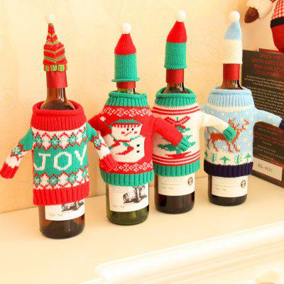 MCYH YH594 Christmas Knitting Wine Bottle Bag 1PCChristmas Supplies<br>MCYH YH594 Christmas Knitting Wine Bottle Bag 1PC<br><br>Brand: MCYH<br>For: All<br>Material: Knitted<br>Package Contents: 1 x Wine Bottle Bag<br>Package size (L x W x H): 15.00 x 15.00 x 6.00 cm / 5.91 x 5.91 x 2.36 inches<br>Package weight: 0.1200 kg<br>Product weight: 0.1000 kg<br>Usage: Christmas