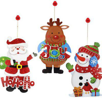 MCYH YH591 Christmas Cartoon Pendant Sticker 3PCSChristmas Supplies<br>MCYH YH591 Christmas Cartoon Pendant Sticker 3PCS<br><br>Brand: MCYH<br>For: All<br>Material: Paper<br>Package Contents: 3 x Christmas Decoration<br>Package size (L x W x H): 41.00 x 27.00 x 5.00 cm / 16.14 x 10.63 x 1.97 inches<br>Package weight: 0.1600 kg<br>Product weight: 0.1500 kg<br>Usage: Christmas