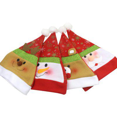MCYH YH589 Christmas Hat 4PCSChristmas Supplies<br>MCYH YH589 Christmas Hat 4PCS<br><br>Brand: MCYH<br>For: All<br>Package Contents: 4 x Christmas Hat<br>Package size (L x W x H): 39.00 x 30.00 x 4.00 cm / 15.35 x 11.81 x 1.57 inches<br>Package weight: 0.1800 kg<br>Product size (L x W x H): 38.00 x 29.00 x 2.00 cm / 14.96 x 11.42 x 0.79 inches<br>Product weight: 0.1500 kg<br>Usage: Christmas