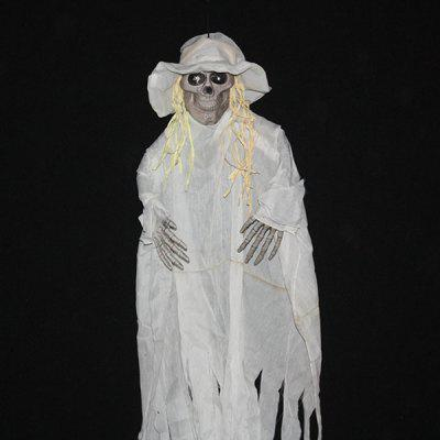 Buy WHITE 100 Creative Scary Tricky Prop Costume for Halloween for $32.82 in GearBest store