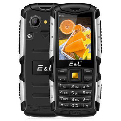 EL S600 Quad Band Unlocked Phone 2.4 inch