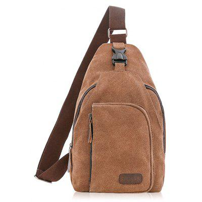 Men Durable Anti-theft Canvas Shoulder Bag