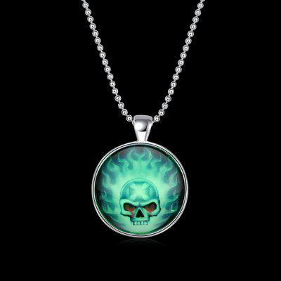 Copper Plated Silver Halloween Skeleton Energy NecklaceNecklaces &amp; Pendants<br>Copper Plated Silver Halloween Skeleton Energy Necklace<br><br>Fabric: 925 Silver<br>Occasions: Others, Performance, Party<br>Package Contents: 1 x Necklace<br>Package size (L x W x H): 7.00 x 6.00 x 4.00 cm / 2.76 x 2.36 x 1.57 inches<br>Package weight: 0.0700 kg<br>Product weight: 0.0500 kg<br>Style: Monster<br>Type: Necklaces