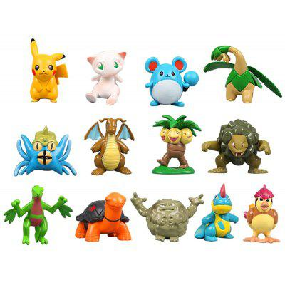 13PCS New Style Anime Collectible PVC Present Figurine