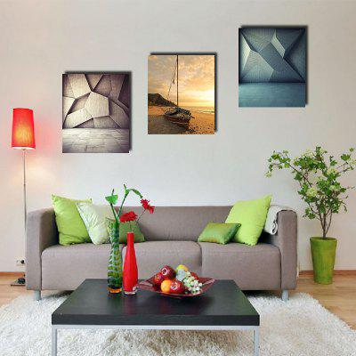Colorful Unframed Prints Arte abstracto moderno 3PCS de la pared