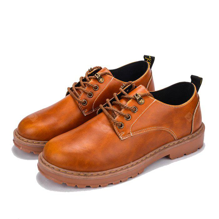 Masculino Nostálgico Britânico Trendy Casual Leather Shoes