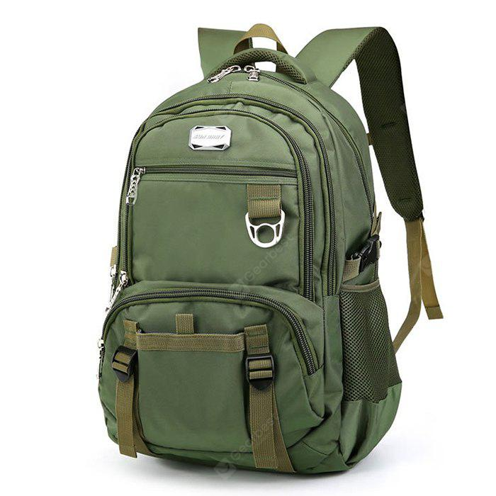 Men Trendy Large Capacity resistente à água Laptop Backpack