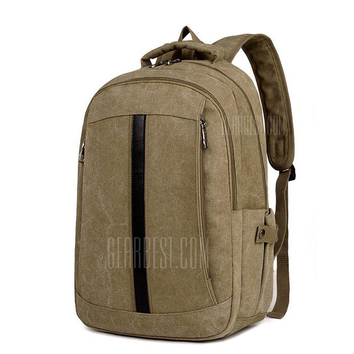 Hombres Elegante Durable Multifuncional Canvas Backpack