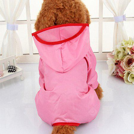 Waterproof Hooded Pets Raincoat for Dog