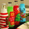Home Decor Christmas Ornaments Beer Bottle Cover - COLORMIX