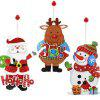 Buy MCYH YH591 Christmas Cartoon Pendant Sticker COLORMIX