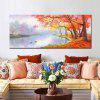 Mintura Unframed Prints Lakeside Landscape Wall Art 1PC - MULTICOLORE