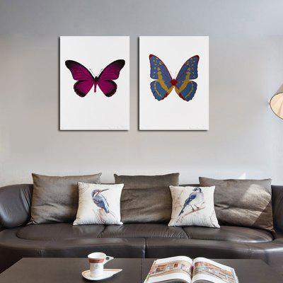 Qiaojiahuayuan Unframed Prints Butterfly Wall Art 2PCSPrints<br>Qiaojiahuayuan Unframed Prints Butterfly Wall Art 2PCS<br><br>Brand: Qiaojiahuayuan<br>Craft: Print<br>Form: Two Panels<br>Material: Canvas<br>Package Contents: 2 x Print<br>Package size (L x W x H): 62.00 x 5.00 x 5.00 cm / 24.41 x 1.97 x 1.97 inches<br>Package weight: 0.4200 kg<br>Painting: Without Inner Frame<br>Product weight: 0.3000 kg<br>Shape: Horizontal Panoramic<br>Style: Modern<br>Subjects: Animal<br>Suitable Space: Living Room