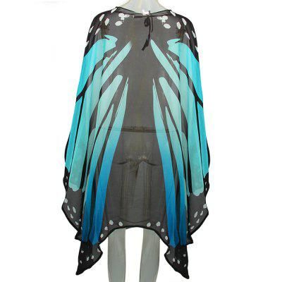Decorative Costume Chiffon Butterfly Wings TippetHalloween Supplies<br>Decorative Costume Chiffon Butterfly Wings Tippet<br><br>Package Contents: 1 x Tippet<br>Package size (L x W x H): 27.00 x 33.00 x 2.00 cm / 10.63 x 12.99 x 0.79 inches<br>Package weight: 0.1050 kg<br>Product size (L x W x H): 65.00 x 145.00 x 1.00 cm / 25.59 x 57.09 x 0.39 inches<br>Product weight: 0.1000 kg<br>Usage: Halloween, Party, Performance, Stage