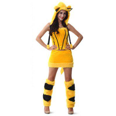 Robe en Animation Costumes Décorative de Halloween pour Cosplay