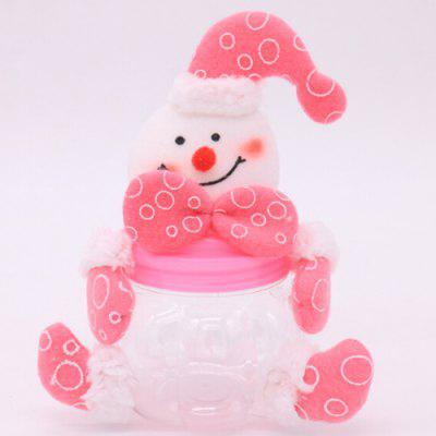Decorative Candy Biscuit Container Jar for Christmas