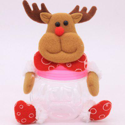 Buy MULTI Decorative Candy Biscuit Container Jar for Christmas for $2.70 in GearBest store