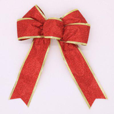 Buy RED Christmas Decorative Charming Ribbon Bowknot for $1.16 in GearBest store