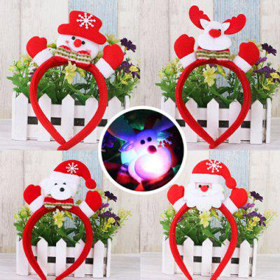 Christmas Ornaments Luminous Headband for PartyChristmas Supplies<br>Christmas Ornaments Luminous Headband for Party<br><br>For: Friends, Kids<br>Package Contents: 1 x Headband<br>Package size (L x W x H): 14.00 x 25.00 x 2.50 cm / 5.51 x 9.84 x 0.98 inches<br>Package weight: 0.0270 kg<br>Product size (L x W x H): 12.00 x 23.00 x 2.00 cm / 4.72 x 9.06 x 0.79 inches<br>Product weight: 0.0250 kg<br>Usage: Christmas