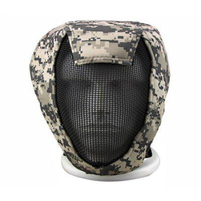 CTSmart MA - 12 Steel Mesh Tactical Protective Mask