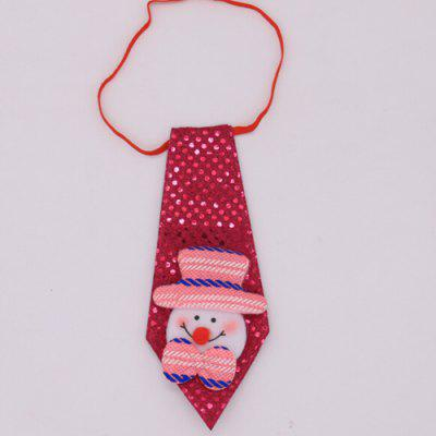 Christmas Gifts Ornaments Luminous Necktie