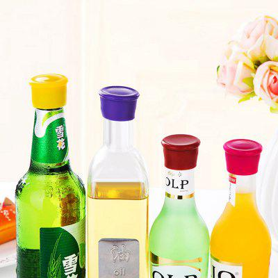Silicone Wine Bottle StopperBarware<br>Silicone Wine Bottle Stopper<br><br>Cup Type: Brandy Glass,Champagne Glass,Whiskey Glass,Wine Glass<br>Main Materials: Silica Gel<br>Package Contents: 1 x Wine Bottle Stopper<br>Package size (L x W x H): 4.50 x 3.70 x 4.00 cm / 1.77 x 1.46 x 1.57 inches<br>Package weight: 0.0350 kg<br>Product size (L x W x H): 3.50 x 2.80 x 3.10 cm / 1.38 x 1.1 x 1.22 inches<br>Product weight: 0.0100 kg<br>Type: Corkscrews and Openers<br>Wine Type: Wine Stopper