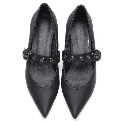 Female Vintage Style Pointed Toe Chunky Heel PumpsFemale Vintage Style Pointed Toe Chunky Heel Pumps<br><br>Closure Type: Buckle Strap<br>Contents: 1 x Pair of Shoes<br>Materials: Rubber, PU<br>Occasion: Tea Party, Party, Holiday, Dress, Dancing, Daily, Office<br>Outsole Material: Rubber<br>Package Size ( L x W x H ): 32.00 x 21.00 x 11.00 cm / 12.6 x 8.27 x 4.33 inches<br>Package Weights: 0.8kg<br>Seasons: Autumn,Summer<br>Style: Leisure, Comfortable<br>Toe Shape: Pointed Toe<br>Type: Pumps<br>Upper Material: PU