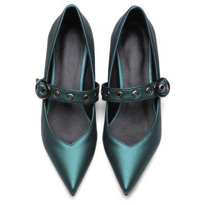 Female Vintage Style Pointed Toe Chunky Heel PumpsWomens Casual Shoes<br>Female Vintage Style Pointed Toe Chunky Heel Pumps<br><br>Closure Type: Buckle Strap<br>Contents: 1 x Pair of Shoes<br>Materials: Rubber, PU<br>Occasion: Tea Party, Party, Holiday, Dress, Dancing, Daily, Office<br>Outsole Material: Rubber<br>Package Size ( L x W x H ): 32.00 x 21.00 x 11.00 cm / 12.6 x 8.27 x 4.33 inches<br>Package Weights: 0.8kg<br>Seasons: Autumn,Summer<br>Style: Leisure, Comfortable<br>Toe Shape: Pointed Toe<br>Type: Pumps<br>Upper Material: PU