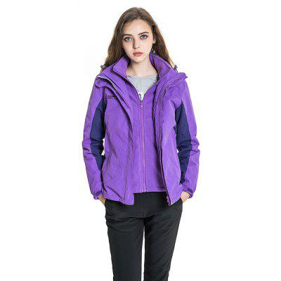 Polar Fire Functional Outdoor Spliced Jacket