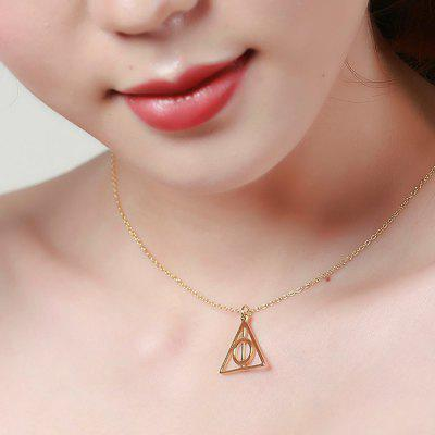 SHSTARHARVEST N - 0288 Women Geometric NecklaceNecklaces &amp; Pendants<br>SHSTARHARVEST N - 0288 Women Geometric Necklace<br><br>Brand: SHSTARHARVEST<br>Package Contents: 1 x Necklace, 1 x Box<br>Package size (L x W x H): 8.00 x 8.00 x 3.00 cm / 3.15 x 3.15 x 1.18 inches<br>Package weight: 0.0612 kg<br>Product weight: 0.0032 kg<br>Style: Fashion<br>Type: Necklaces