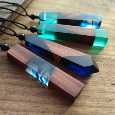 Women Chic Resin Wood Pendant Sweater Chain NecklaceNecklaces &amp; Pendants<br>Women Chic Resin Wood Pendant Sweater Chain Necklace<br><br>Package Contents: 1 x Sweater Chain Necklace<br>Package size (L x W x H): 8.50 x 4.00 x 3.00 cm / 3.35 x 1.57 x 1.18 inches<br>Package weight: 0.0300 kg<br>Product weight: 0.0100 kg<br>Style: Casual, Fashion<br>Type: Necklaces