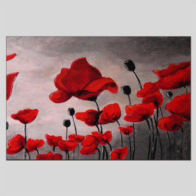 Hua Tuo Modern Hand Painted Wall Art Flowers Oil Painting
