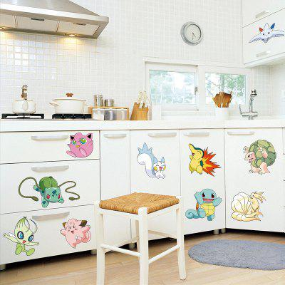 Buy LAIMA QT0514 Cute Cartoon Animal Pattern Wall Sticker, COLORMIX, Home & Garden, Home Decors, Wall Art, Wall Stickers for $7.08 in GearBest store