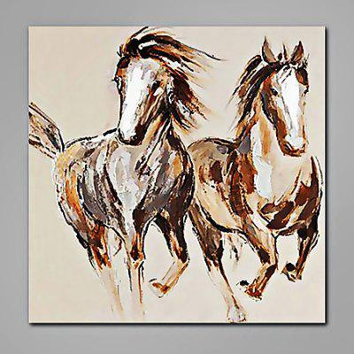 Mintura Animal Horses Hand Painted Oil Painting