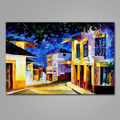 Mintura Street View Hand Painted Oil Painting