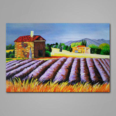 Mintura Flower Field Hand Painted Oil Painting