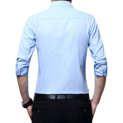 Elegant Pure Color Turndown Long Sleeves Shirt for ManMens Shirts<br>Elegant Pure Color Turndown Long Sleeves Shirt for Man<br><br>Package Contents: 1 x Shirt<br>Package size: 1.00 x 1.00 x 1.00 cm / 0.39 x 0.39 x 0.39 inches<br>Package weight: 0.4000 kg<br>Product weight: 0.3500 kg