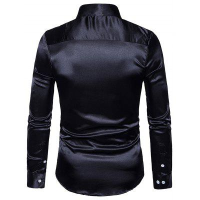 Turndown Collar Pure Color Long Sleeves Shirt for ManMens Shirts<br>Turndown Collar Pure Color Long Sleeves Shirt for Man<br><br>Package Contents: 1 x Shirt<br>Package size: 40.00 x 30.00 x 4.00 cm / 15.75 x 11.81 x 1.57 inches<br>Package weight: 0.3200 kg<br>Product weight: 0.3000 kg