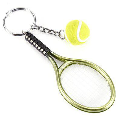 Keychain Tennis Rocket Pendant Popular Creative Young StyleKey Chains<br>Keychain Tennis Rocket Pendant Popular Creative Young Style<br><br>Design Style: Fashion<br>Gender: Unisex<br>Materials: Metal<br>Package Contents: 1 x Keychain<br>Package size: 11.00 x 5.60 x 2.00 cm / 4.33 x 2.2 x 0.79 inches<br>Package weight: 0.0125 kg<br>Product size: 12.00 x 3.70 x 9.00 cm / 4.72 x 1.46 x 3.54 inches<br>Product weight: 0.0122 kg<br>Stem From: Europe and America<br>Theme: Hang Decoration