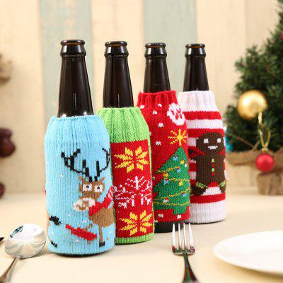 Macroart px - 140 Beer Cover Cute Snowman Style Bottle BagChristmas Supplies<br>Macroart px - 140 Beer Cover Cute Snowman Style Bottle Bag<br><br>Brand: Macroart<br>For: All<br>Material: Nonwoven<br>Package Contents: 1 x Beer Cover<br>Package size (L x W x H): 10.00 x 16.00 x 3.00 cm / 3.94 x 6.3 x 1.18 inches<br>Package weight: 0.1000 kg<br>Product size (L x W x H): 9.00 x 15.00 x 2.00 cm / 3.54 x 5.91 x 0.79 inches<br>Product weight: 0.0200 kg<br>Usage: Party, Christmas