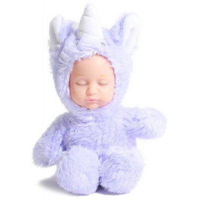 Unicorn Pendant with Plush Doll for Decoration