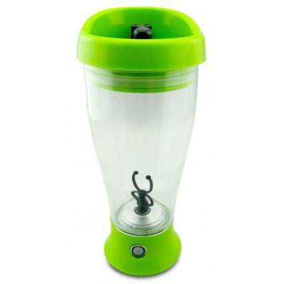 Buy GREEN Portable Electric Automatic Shaker Milk Coffee Mix Bottle for $10.04 in GearBest store