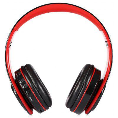 B3 Foldable Stereo Bluetooth Headset with Mic / LED Light / Support TF Card / Aux-in Connection / FM Radio Function